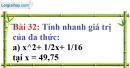 Bài 32 trang 29 Vở bài tập toán 8 tập 1