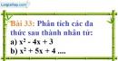 Bài 33 trang 29 Vở bài tập toán 8 tập 1