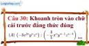 Phần câu hỏi bài 10 trang 30, 31 Vở bài tập toán 8 tập 1