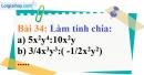 Bài 34 trang 31 Vở bài tập toán 8 tập 1