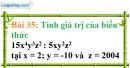 Bài 35 trang 32 Vở bài tập toán 8 tập 1