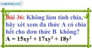 Bài 36 trang 33 Vở bài tập toán 8 tập 1