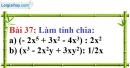 Bài 37 trang 33 Vở bài tập toán 8 tập 1