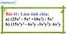 Bài 41 trang 36 Vở bài tập toán 8 tập 1