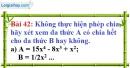 Bài 42 trang 36 Vở bài tập toán 8 tập 1
