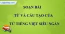 Từ và cấu tạo của từ tiếng Việt