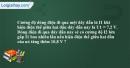 Bài 1.10 trang 5 SBT Vật lí 9