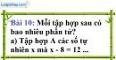 Bài 10 trang 12 Vở bài tập toán 6 tập 1