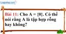 Bài 11 trang 12 Vở bài tập toán 6 tập 1