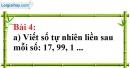 Bài 4 trang 7 Vở bài tập toán 6 tập 1