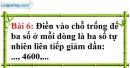 Bài 6 trang 8 Vở bài tập toán 6 tập 1
