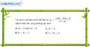 Bài 1.16 trang 9 SBT giải tích 12