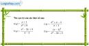 Bài 1.18 trang 15 SBT giải tích 12