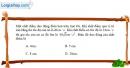Bài 1.8, 1.9, 1.10, 1.11 trang 4 SBT Vật Lí 12