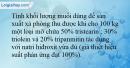 Bài 3.7 trang 8 SBT Hóa học 12