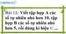 Bài 12 trang 12 Vở bài tập toán 6 tập 1