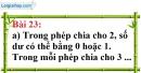 Bài 23 trang 20 Vở bài tập toán 6 tập 1