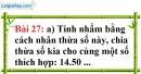 Bài 27 trang 21 Vở bài tập toán 6 tập 1