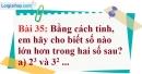 Bài 35 trang 26 Vở bài tập toán 6 tập 1