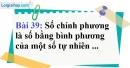 Bài 39 trang 28 Vở bài tập toán 6 tập 1
