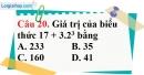 Phần câu hỏi bài 9 trang 29 Vở bài tập toán 6 tập 1