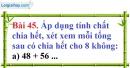 Bài 45 trang 34 Vở bài tập toán 6 tập 1