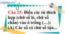 Phần câu hỏi bài 11 trang 36 Vở bài tập toán 6 tập 1