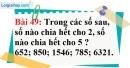 Bài 49 trang 36 Vở bài tập toán 6 tập 1