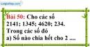 Bài 50 trang 36 Vở bài tập toán 6 tập 1