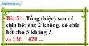 Bài 51 trang 37 Vở bài tập toán 6 tập 1