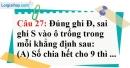 Phần câu hỏi bài 12 trang 39 Vở bài tập toán 6 tập 1