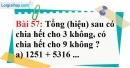 Bài 57 trang 39 Vở bài tập toán 6 tập 1