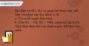 Bài 4.1 trang 9 SBT Vật lí 9