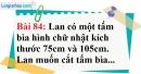 Bài 84 trang 58 Vở bài tập toán 6 tập 1