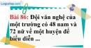 Bài 86 trang 60 Vở bài tập toán 6 tập 1