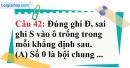 Phần câu hỏi bài 18 trang 61 Vở bài tập toán 6 tập 1