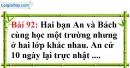 Bài 92 trang 64 Vở bài tập toán 6 tập 1