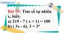 Bài 95 trang 65 Vở bài tập toán 6 tập 1