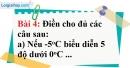 Bài 4 trang 75 Vở bài tập toán 6 tập 1