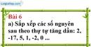 Bài 6 trang 76 Vở bài tập toán 6 tập 1