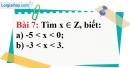 Bài 7 trang 77 Vở bài tập toán 6 tập 1