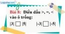 Bài 8 trang 77 Vở bài tập toán 6 tập 1