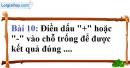 Bài 10 trang 78 Vở bài tập toán 6 tập 1