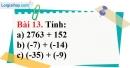 Bài 13 trang 80 Vở bài tập toán 6 tập 1