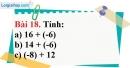 Bài 18 trang 82 Vở bài tập toán 6 tập 1
