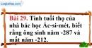 Bài 29 trang 89 Vở bài tập toán 6 tập 1