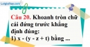 Phần câu hỏi bài 8 trang 90, 91 Vở bài tập toán 6 tập 1