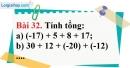 Bài 32 trang 91 Vở bài tập toán 6 tập 1