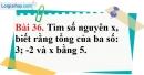 Bài 36 trang 93 Vở bài tập toán 6 tập 1