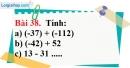 Bài 38 trang 94 Vở bài tập toán 6 tập 1
